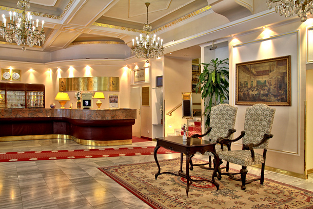 Hotelu Ambassador Zlatá Husa Praha 3