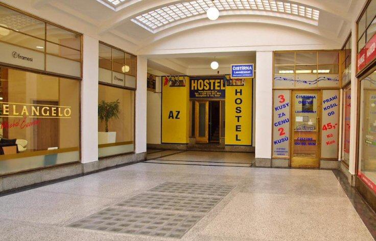 Hostelu AZ Praha 10