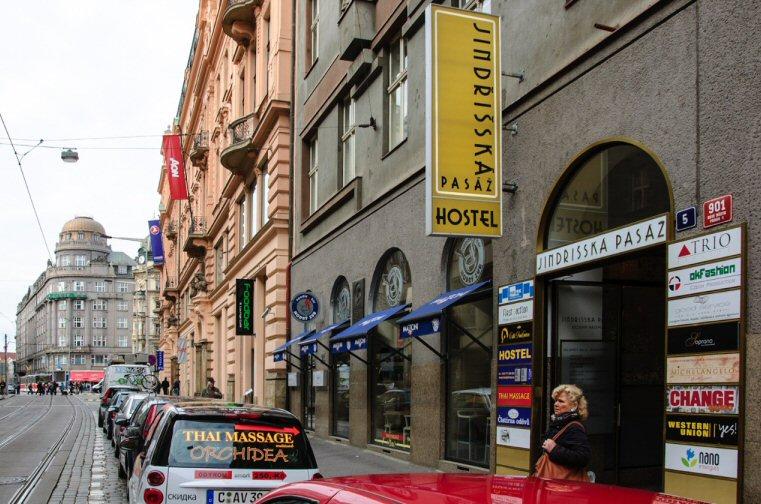 Hostelu AZ Praha 4