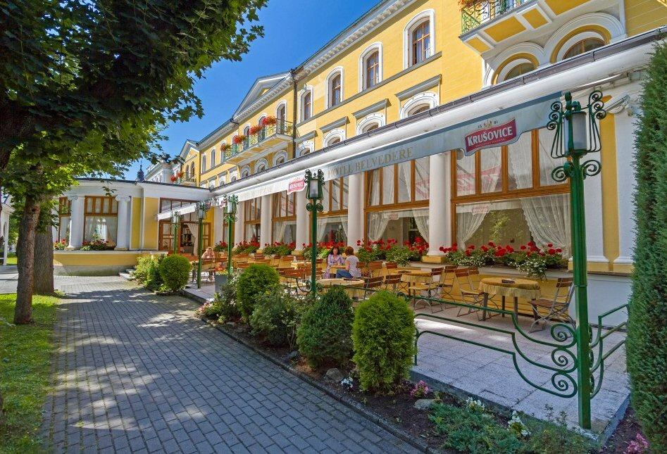 Hotelu Belvedere Františkovy Lázně 10