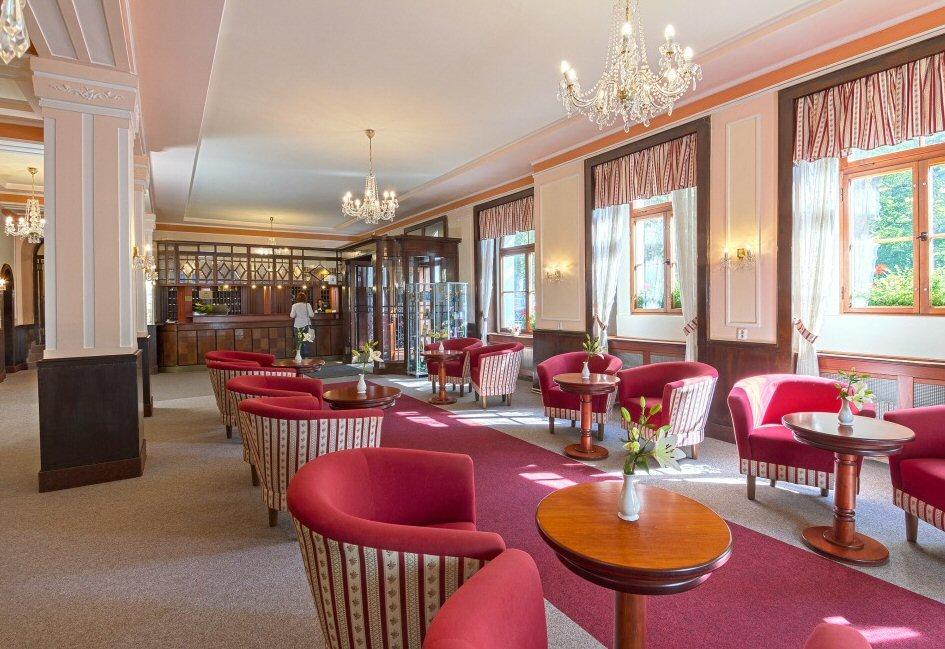 Hotelu Belvedere Františkovy Lázně 9