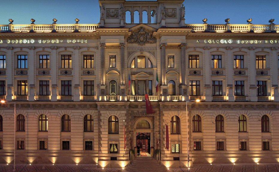 Hotelu Boscolo Praha 4
