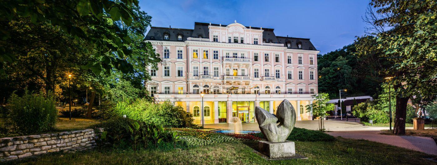 Hotelu Císařské lázně Teplice 1