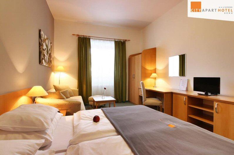 Hotelu City Apart Brno 1