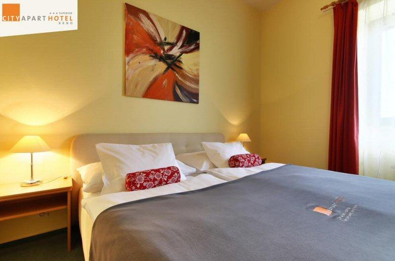 Hotelu City Apart Brno 2