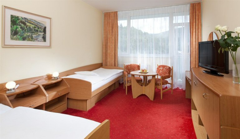 Hotelu Komplex Curie Jáchymov 4