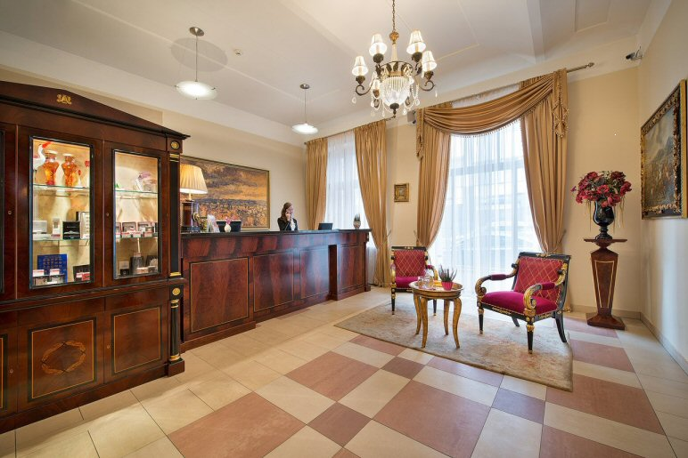 Hotelu Embassy Praha 5