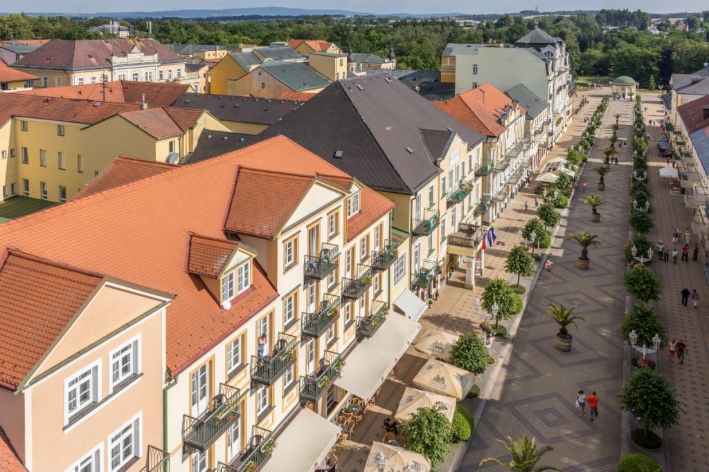 Hotelu Goethe Františkovy Lázně 1