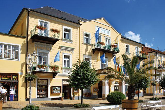 Hotelu Goethe Františkovy Lázně 2