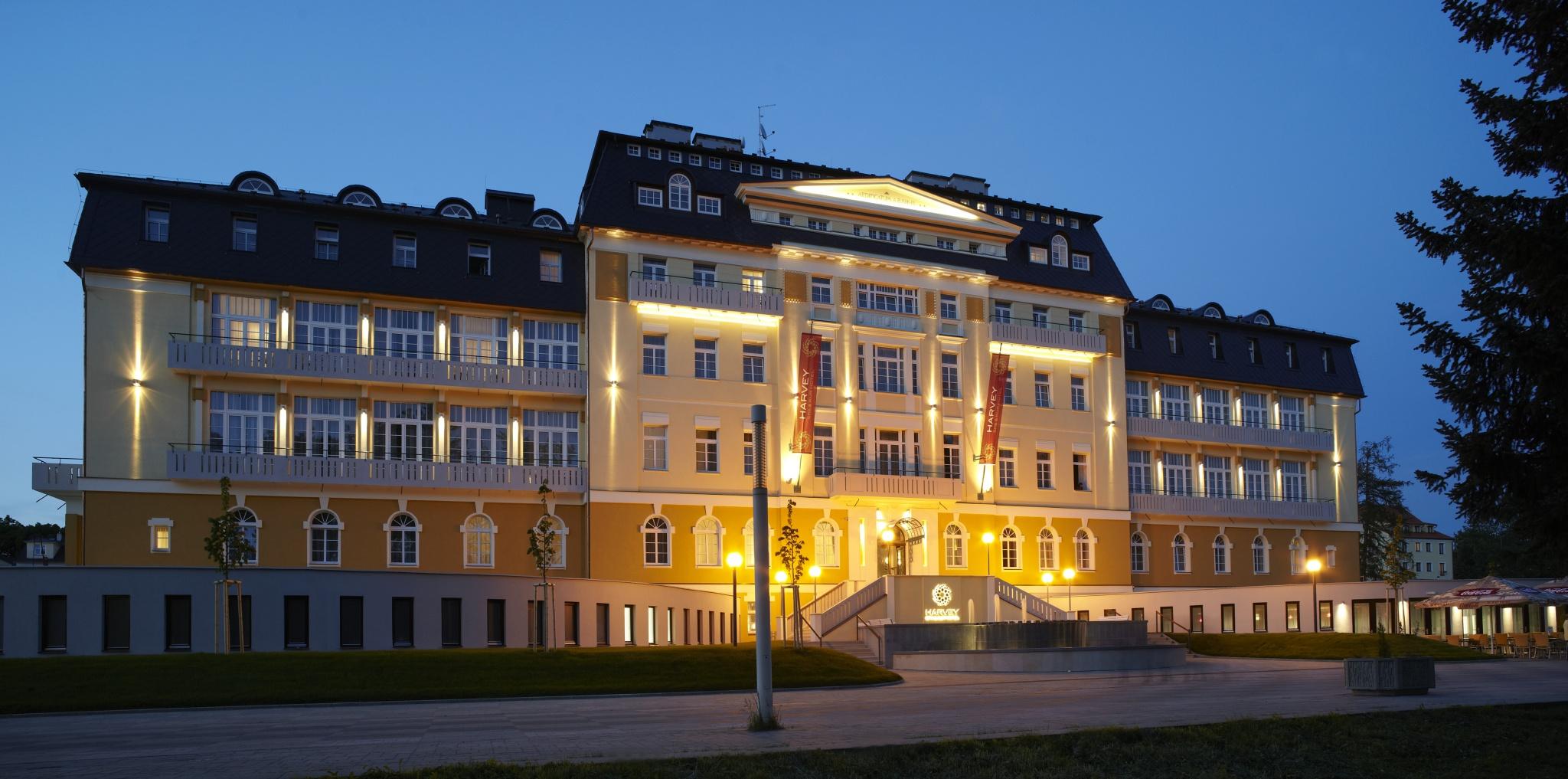Hotelu Harvey Spa & Kur Františkovy Lázně 10