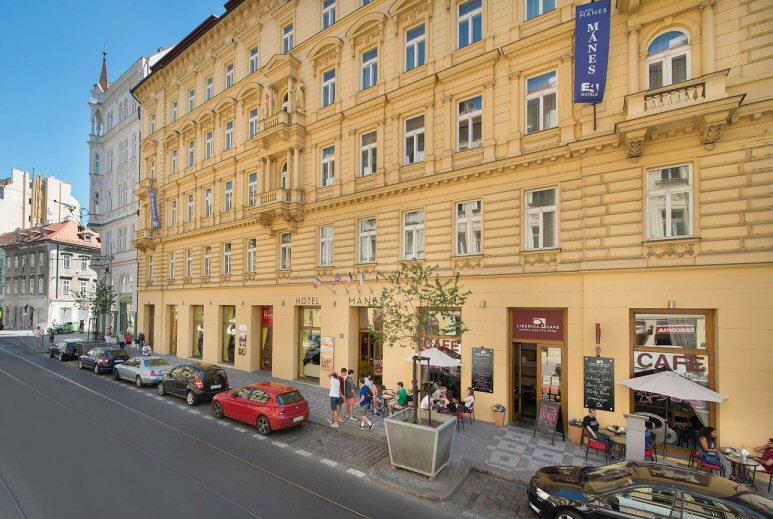 Hotelu EA Mánes Praha 3