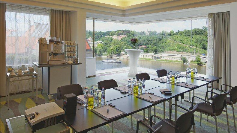 Hotelu InterContinental Praha 7