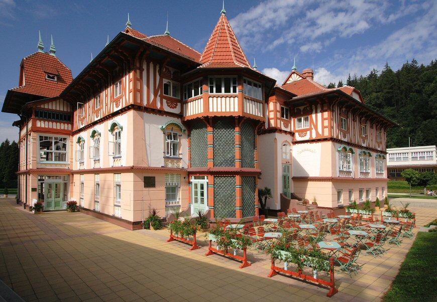 Hotelu Jurkovičův dům Luhačovice 1