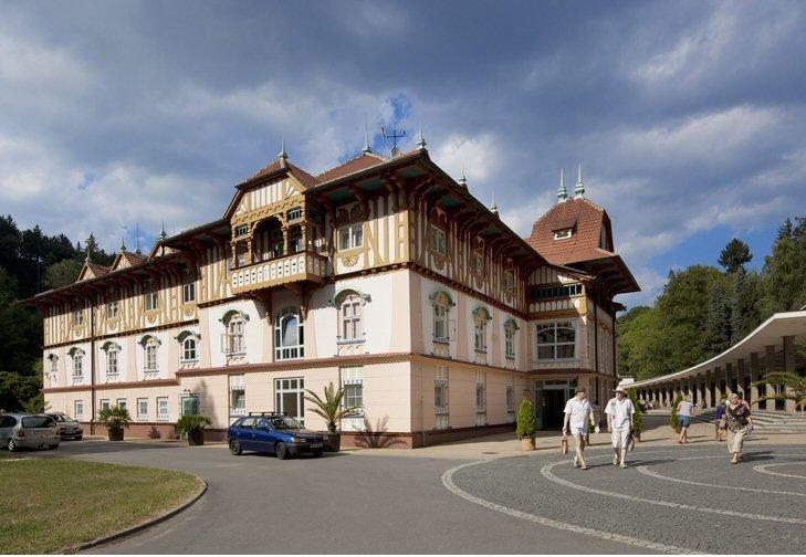 Hotelu Jurkovičův dům Luhačovice 12