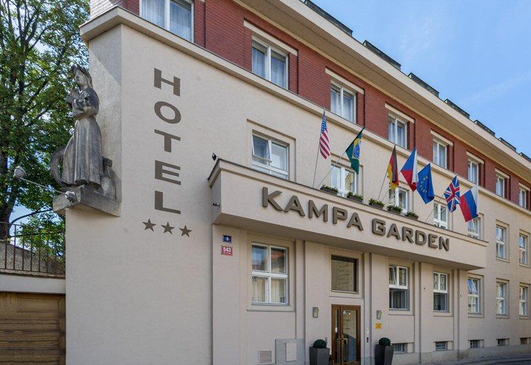 Hotelu Kampa Garden Praha 7
