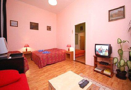 Apartmánu Letná Praha 3