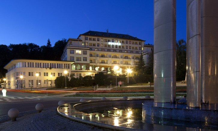 Hotelu Palace Luhačovice 8