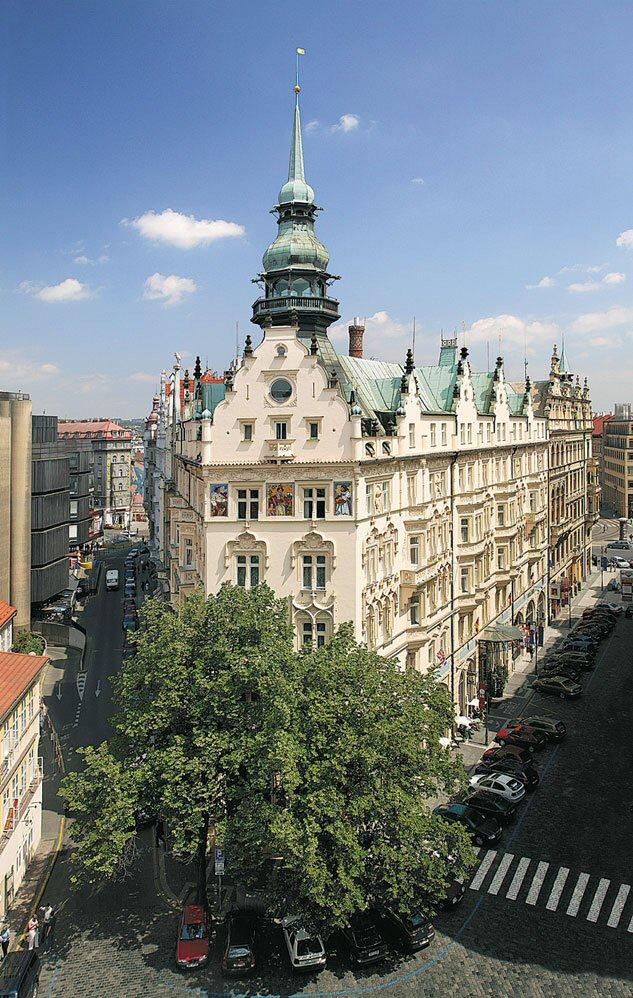 Hotelu Paříž Praha 4