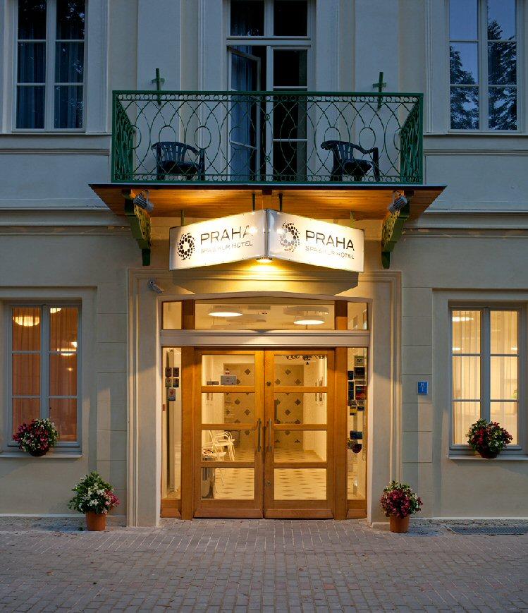 Hotelu Praha Spa & Kur  Františkovy Lázně 11