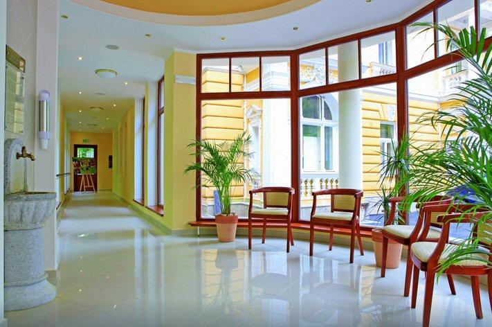 Hotelu Ensana Spa Svoboda Mariánské Lázně 10