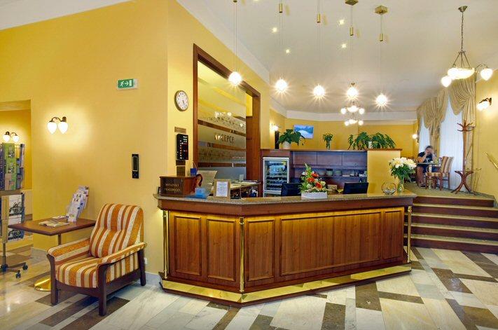 Hotelu Ensana Spa Svoboda Mariánské Lázně 11