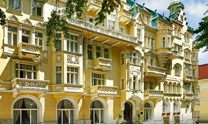 Hotelu Ensana Spa Svoboda Mariánské Lázně 3