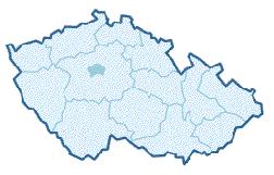 Mapa ČR, klikněte na požadovaný kraj