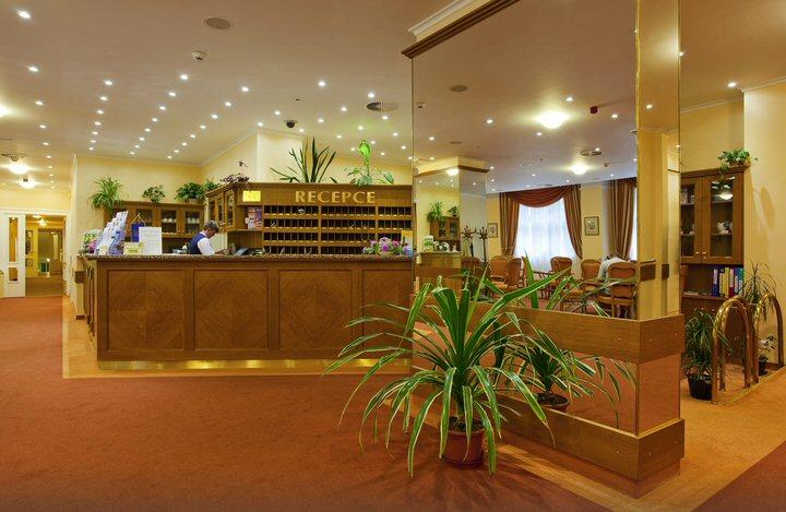 Hotelu Spa Vltava Mariánské Lázně 4