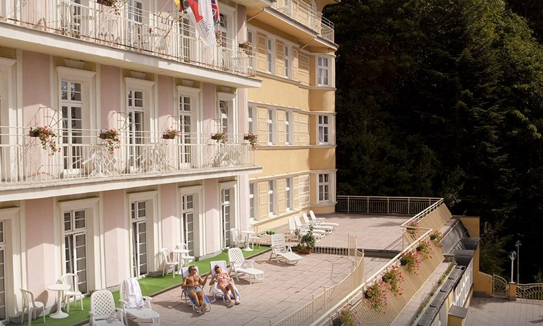 Hotelu Spa Vltava Mariánské Lázně 9